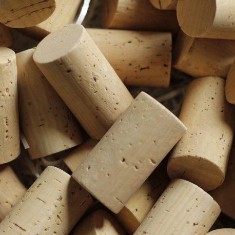 Imagen tapones cilíndricos de corcho natural