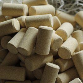 Imagen de conjunto de tapones cilíndricos de tipo microgranulados